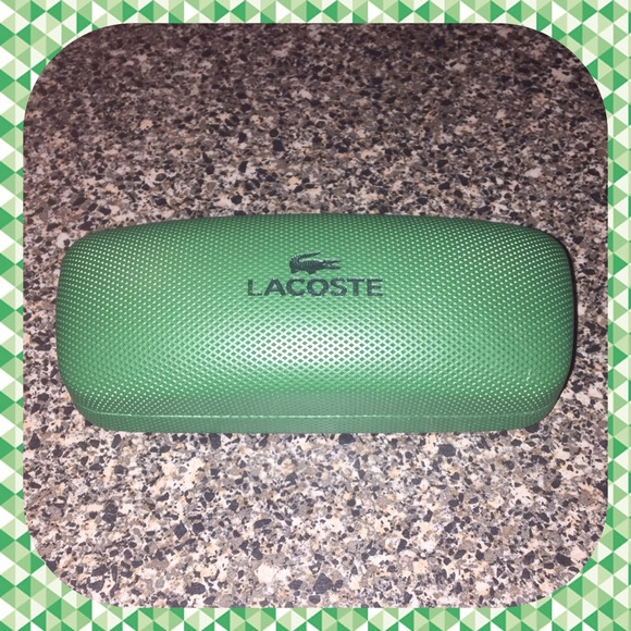413d76a777c0 New Lacoste Glasses Case!